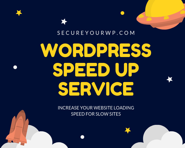 WORDPRESS SPEED OPTIMIZATION SERVICE